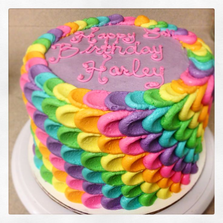 17 best images about jac 39 s cakes on pinterest lemon for Rainbow petals