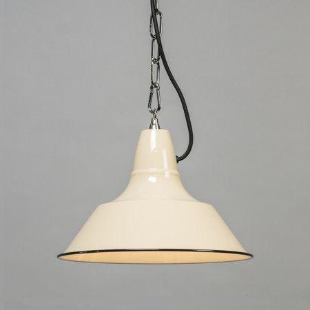 Lampa wisząca Gestel biała