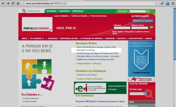 No Portal do Cidadão e com o Cartão do Cidadão é possível alterar a morada fiscal gratuitamente.