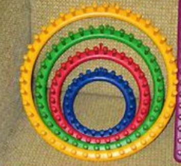This is a guide about making a hat on a round loom. Round looms are quite popular for the non traditional or inexperienced knitter.