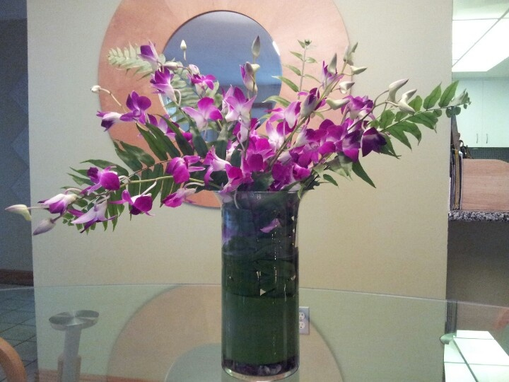 Diy orchid centerpiece my events pinterest