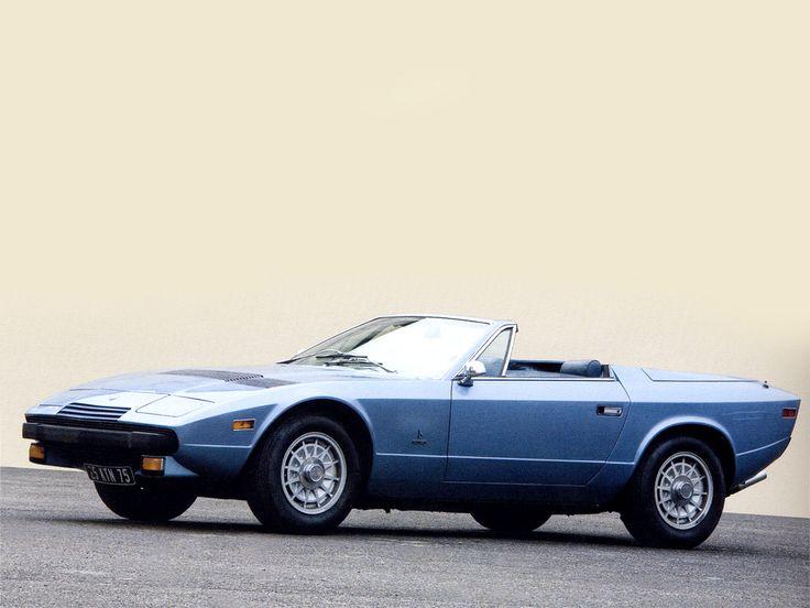 Maserati Khamsin Spyder