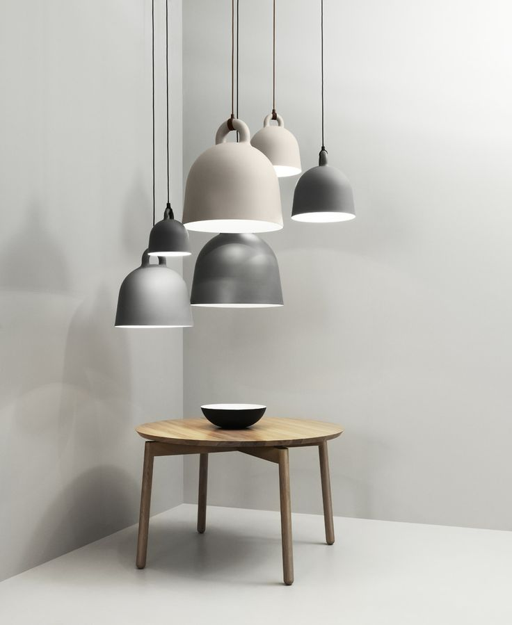 Bell Lamps, Nord Table, Krenit Bowl.