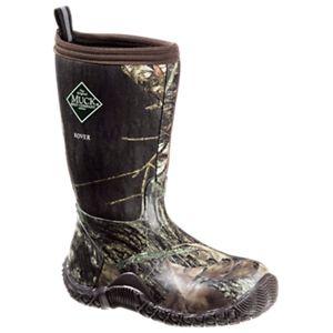 The Original Muck Boot Company Rover II Waterproof Outdoor Boots for Kids - Mossy Oak Break-Up/Brown -