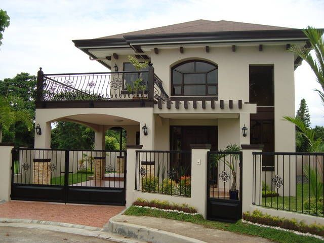 homes with balcony designs