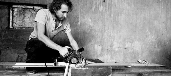 ABOUT  JOOST VAN VELDHUIZEN  THE MAN BEHIND VANJOOST.  TO TELL BY CREATING.  NOT BY SHOUTING,  BUT BY BASIC FORMS   OF SIMPLICITY.  AN ENCOURAGEMENT.  BEND THE NORM