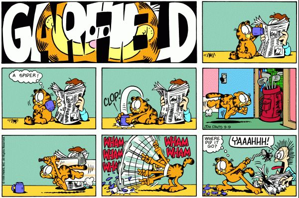 Garfield comic - Reminds me of Nancy