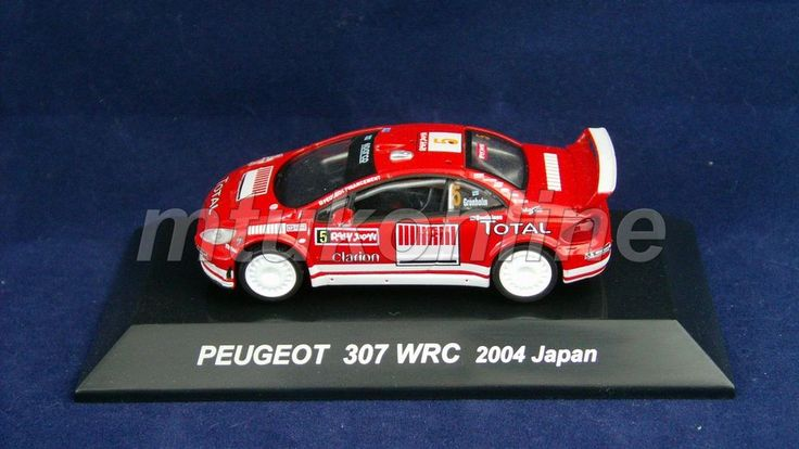 CM S RALLY CAR COLLECTION | JAPAN | PEUGEOT 307 WRC 2005 | 1/64 | GRONHOLM
