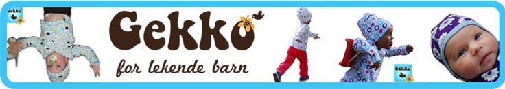 Gekko garments  High Norwegian fashion for babies and cool kids 0-7 years old