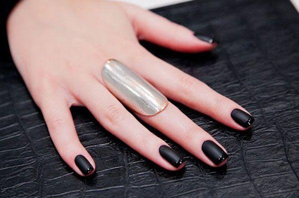Картинки по запросу темные ногти дизайн