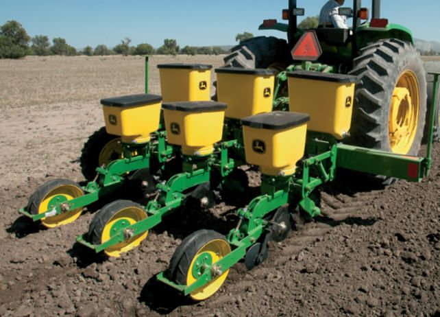 Tractor In Field Planting : Best images about planters drills on pinterest john