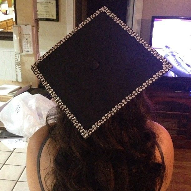 Simple and classy grad cap