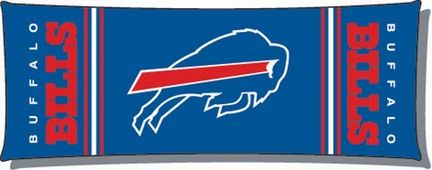 """Official NFL Buffalo Bills 19"""" x 48"""" Body Pillow - by Northwest Company"": Super long and super… #Sport #Football #Rugby #IceHockey"