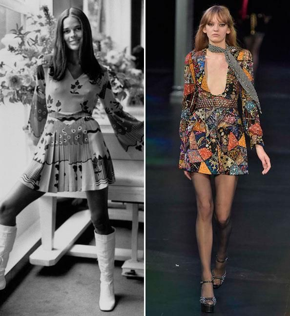 Then and Now: These Sexy '70s Trends Are Making a Comeback