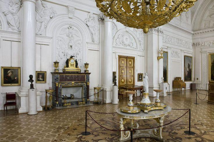 Белый зал в Зимнем дворце
