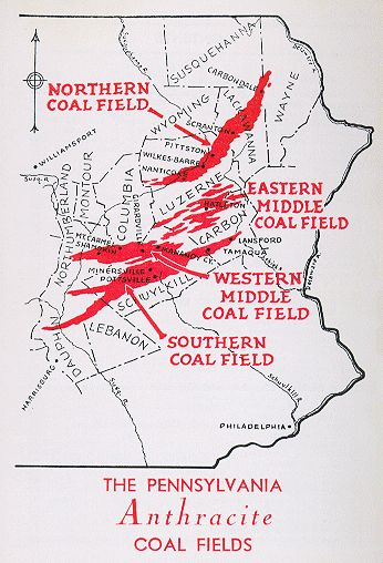 MSHA - District 1 - Coal Mine Safety and Health - Coal Veins within District 1