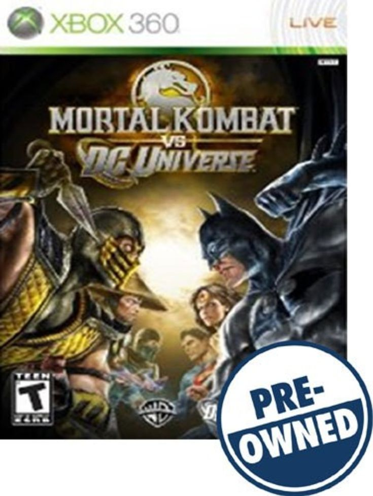 Mortal Kombat vs. DC Universe — PRE-Owned - Xbox 360