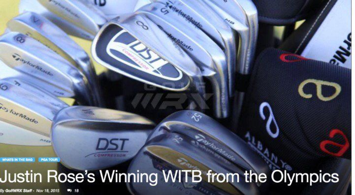 DST Golf ‏@DSTGolf  Aug 15 Congratulations to DST User & Olympic Champion Justin Rose. Golf's extra special Major