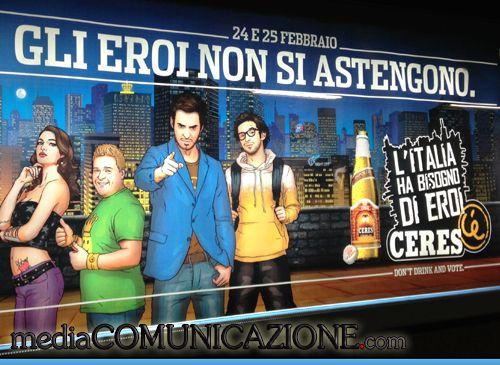 """Si avvicina il voto e qualche pubblicità """"cavalca l'onda"""" dell'appuntamento elettorale.     http://mediacomunicazione.com/2013/02/21/pubblicita-ceres-responsabile/"""