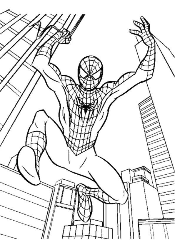 Momjunction Spiderman Coloring Pages Designs Trend