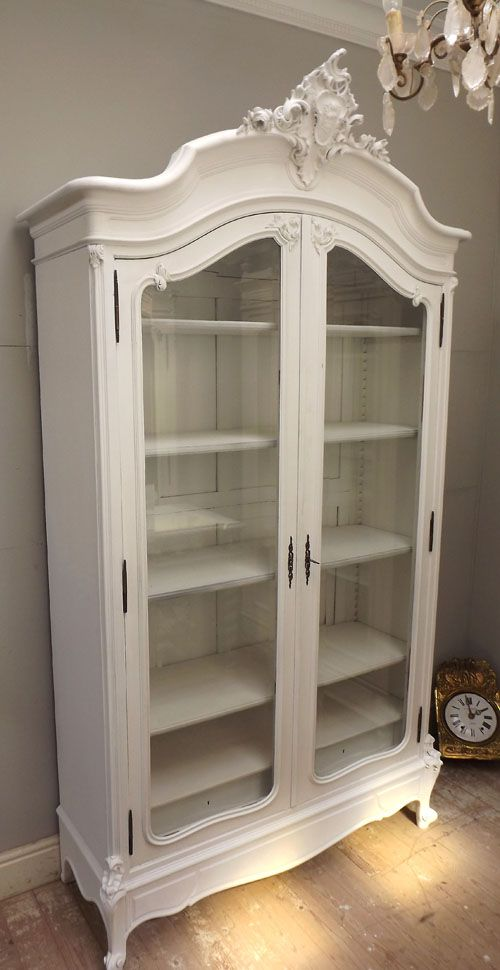Awesome Antique French Display Cabinet
