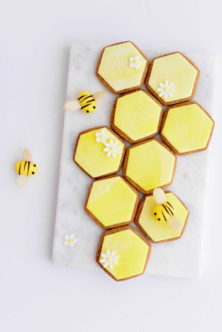 ... honeycomb cookies ...