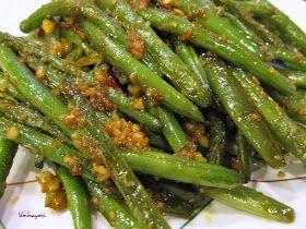 UMMA YORI: Szechuan Green Beans