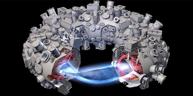 Reactorul german de fuziune nucleara Wendelstein 7-X (W7-X) functioneaza si promite energie infinita si verde pentru totdeauna - acest sistem parca desprins dintr-un film SF, denumit si