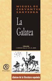 Cervantes published a pastoral novel named La Galatea.