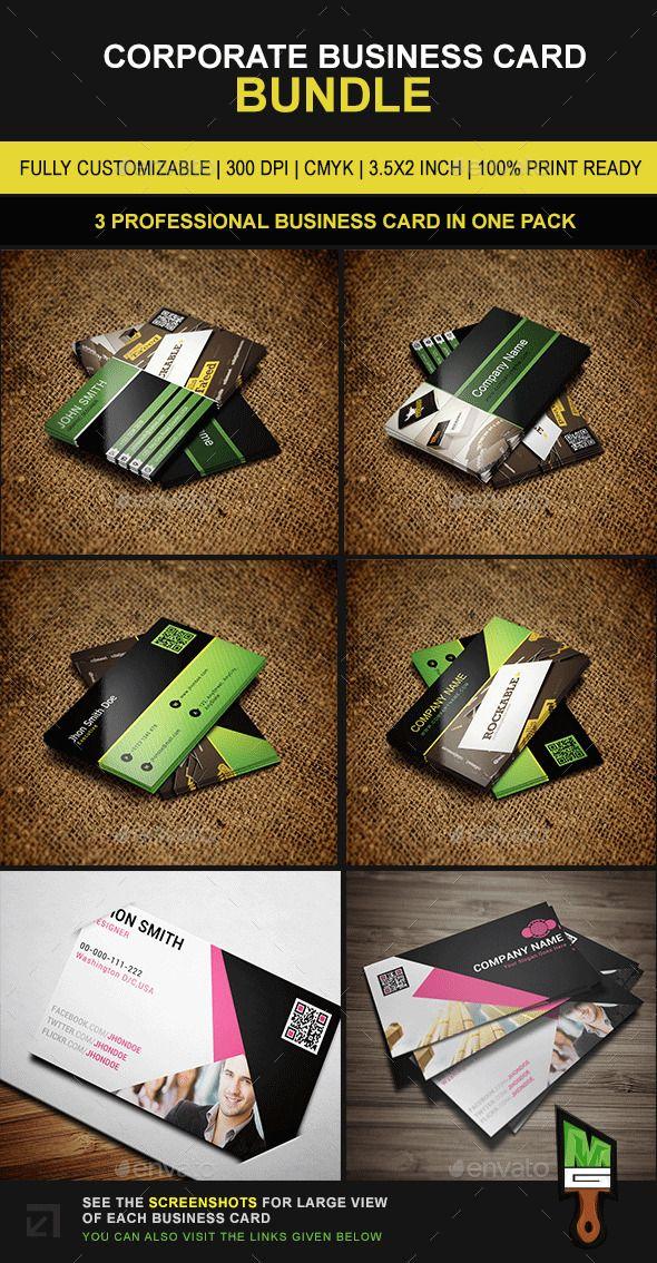 Portfolio Picture Business Card Bundle Template #design Download: http://graphicriver.net/item/portfolio-picture-business-card-bundle-04/11004672?ref=ksioks