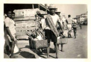 Suasana Pasar Tanah Abang Tahun 1947