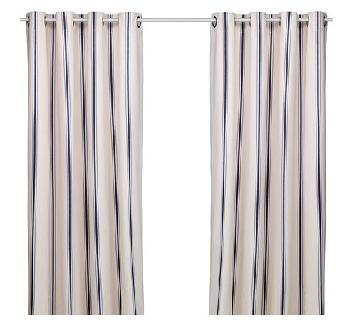 curtains - coastal look