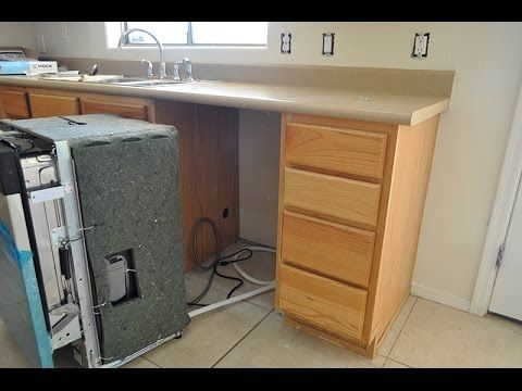 Dishwasher How To Install A Dishwasher in less than 1 hour! How To Repla...