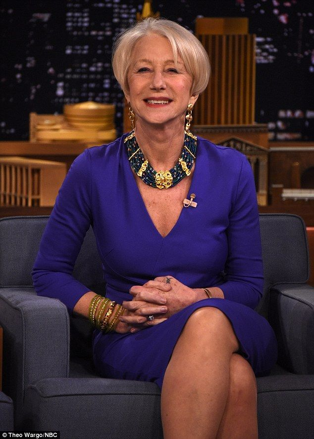 Not present helen mirren mature see through what
