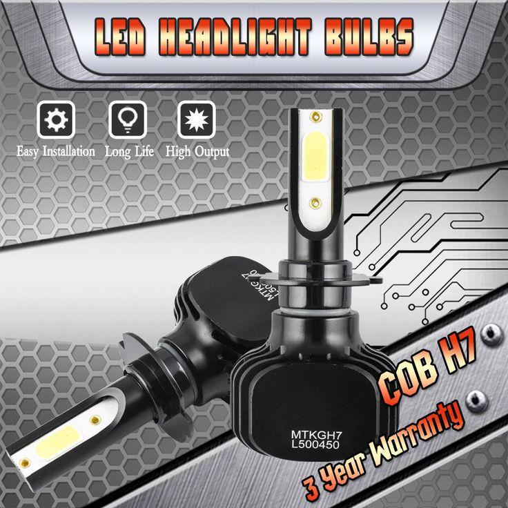 Nice Great H7 LED Headlight Hi/Lo Beam for Volkswagen VW Jetta 2006-2017 Passat 2001-2017 2017-2018