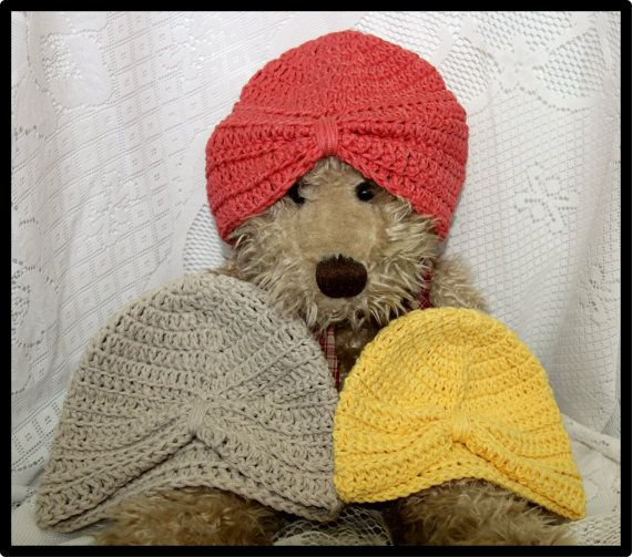 Crochet Turbans by HazelCrochet on Etsy