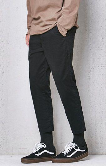 Slim Taper Chino Cropped Pants
