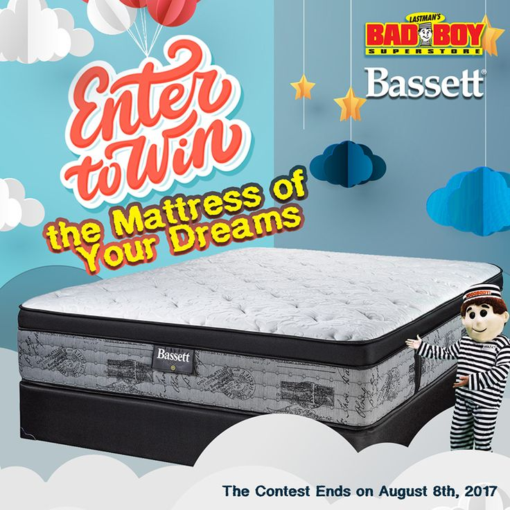 Enter to Win the Bassett Mattress of your Dreams!