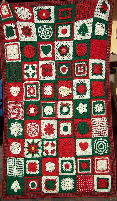 Ravelry: theemuts' Christmas Blanket