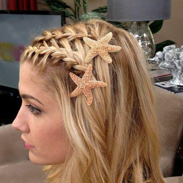 Love the starfish clips