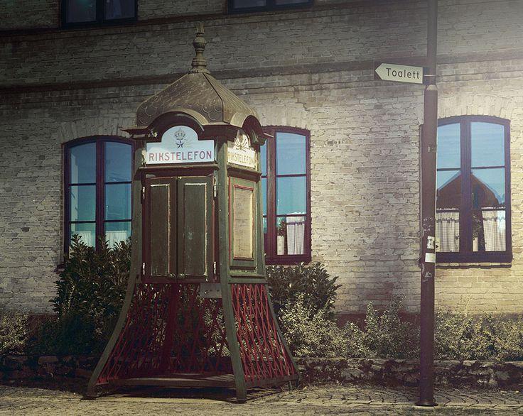 Old Swedish Phone Booth