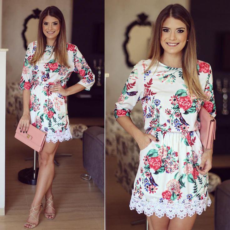 """"""" Flores by @missmaryriopreto para inspirar nosso dia! O verão da marca está…"""
