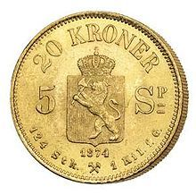 Norwegian krone - Wikipedia, the free encyclopedia