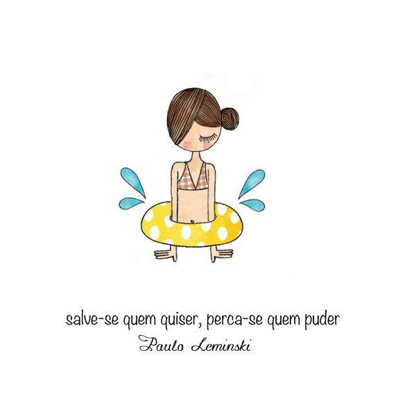 #monicacrema #fofura #frases #ilustração #quote