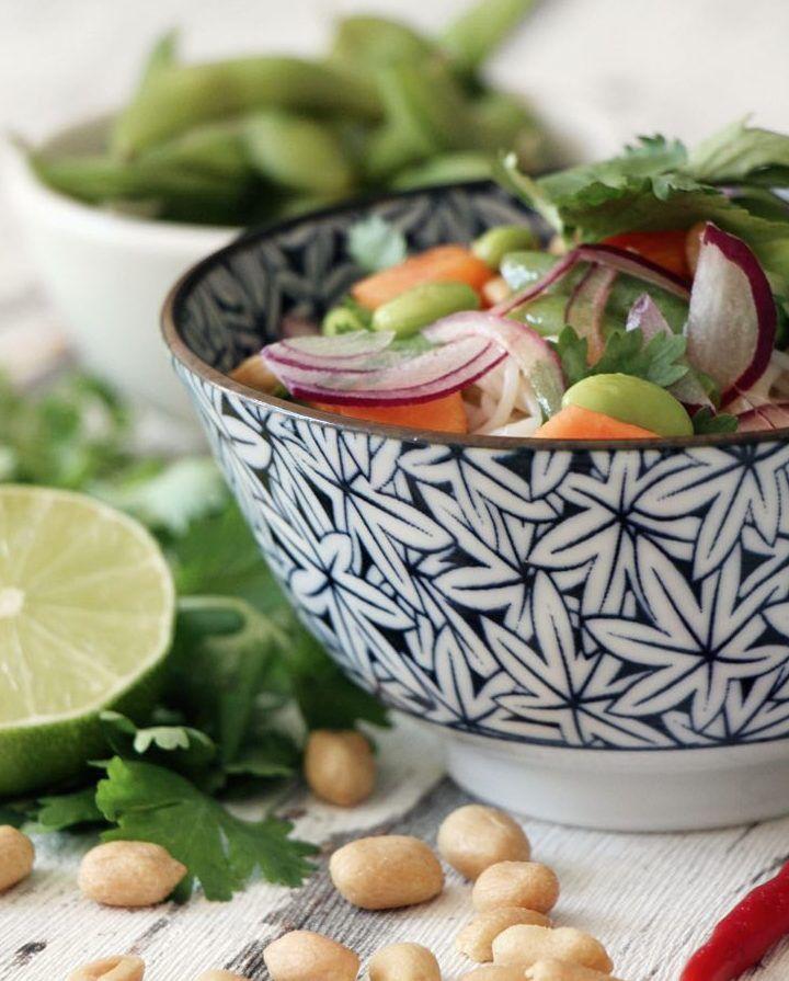 DIY-Anleitung: Japanischen Reisnudelsalat mit Papaya zubereiten via DaWanda.com