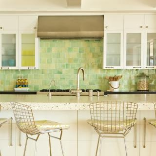 Fresh Colorful Kitchen Backsplash Ideas