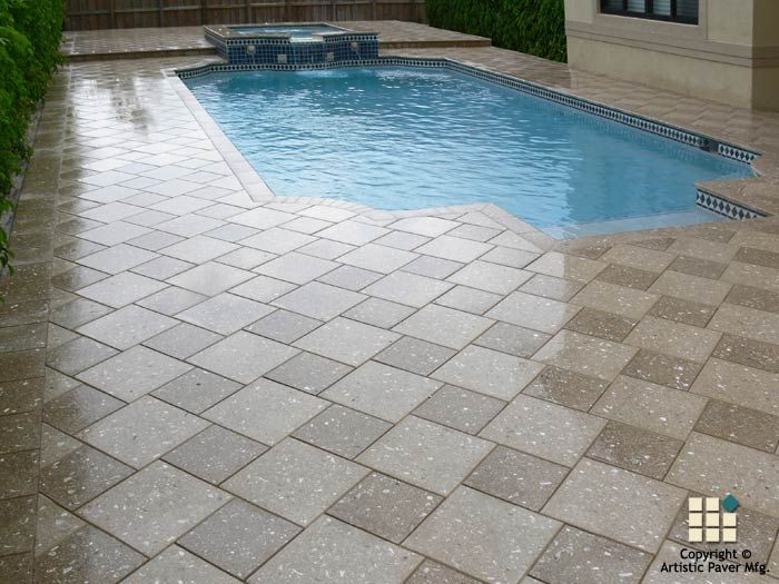 64 best artistic pavers pools images on pinterest pool for Pool design pattern