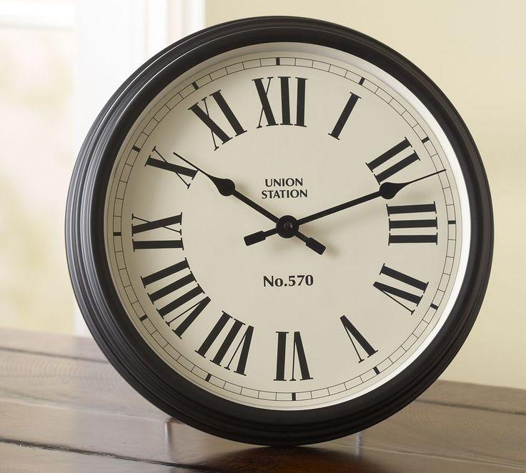 Union Station Clock | Pottery Barn AU $199  large 56 cm diameter
