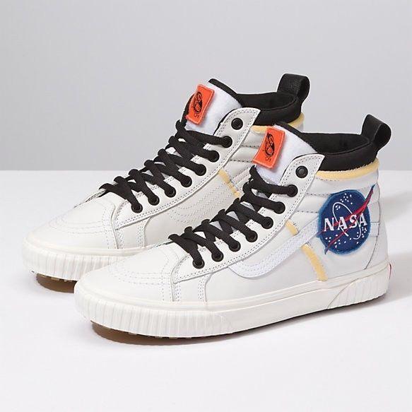 Vans SK8-Hi x NASA Space Voyager 46 MTE DX True White ...