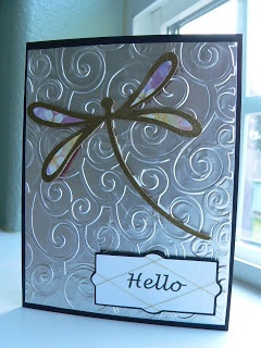 Tin foil embossing video - This is soooo right up my alley!